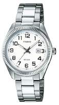 Casio Collection ltp-1302pd-7bvef – Ladies Watch – Analogue Quartz – White Dial – Steel Bracelet Silver