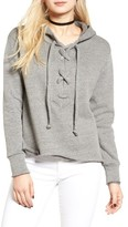 LnA Women's Lace-Up Hoodie