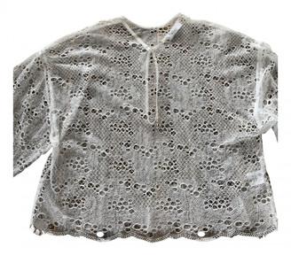Roseanna White Cotton Tops