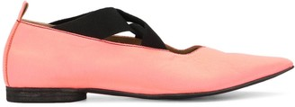 UMA WANG Pointed Toe Flats