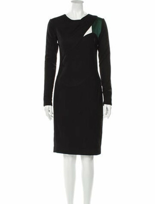 Narciso Rodriguez 2010 Midi Length Dress Wool