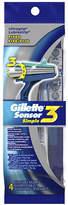Gillette Sensor 3 Simple Mens Disposable Razors