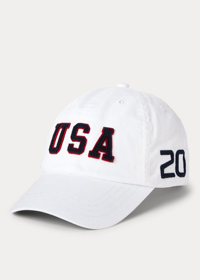 Ralph Lauren Team USA One-Year-Out Chino Ball Cap