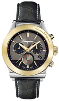 Salvatore Ferragamo 1899 Gun Guilloche Dial Watch, 42mm