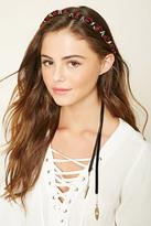 Forever 21 FOREVER 21+ Rose Flower Crown Headwrap