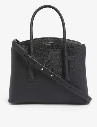 Kate Spade Margaux logo-embossed medium leather bag