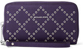 MICHAEL Michael Kors Large Saffiano Grommet Wristlet Wallet/Phone Case