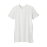 Uniqlo MEN HEATTECH Crew Neck T-Shirt (Short Sleeve)