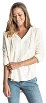 Roxy Women's Good Vibrations Long Sleeve Hooded Sweatshirt