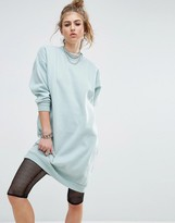 Noisy May Longline Sweat Dress