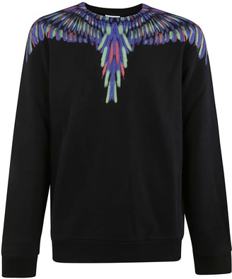 Marcelo Burlon County of Milan Chalk Wings Regular Crewneck