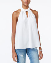 Rachel Roy Draped Keyhole Halter Top, Only at Macy's