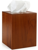 Hotel Collection Teak Tissue Holder