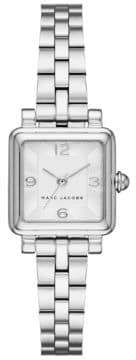 Marc Jacobs Vic Stainless Steel Three-Hand Bracelet Watch