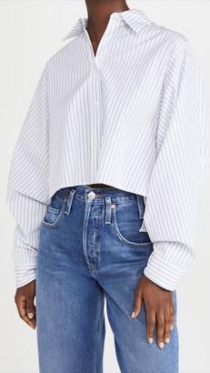 MM6 MAISON MARGIELA Striped Poplin Shirt