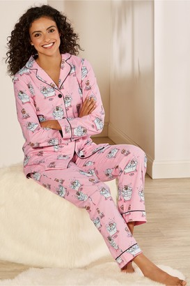Women Furry Friends Festivities Pajamas