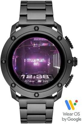Diesel Gen 5 Full Display Gunmetal Grey IP Stainless Steel Bracelet Smart Watch