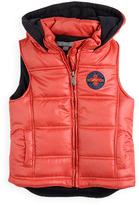 Pumpkin Patch Hooded Puffer Vest