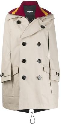 DSQUARED2 Cape Jumper Coat