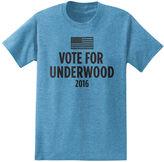 Novelty T-Shirts Vote for Underwood 2016 Short Sleeve T-Shirt