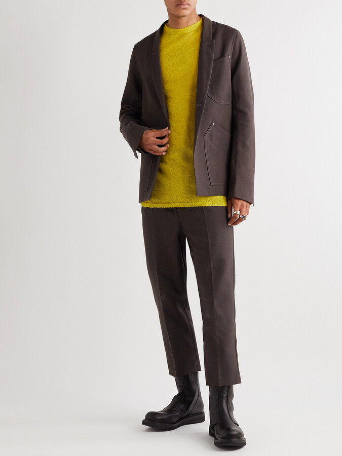 Thumbnail for your product : Rick Owens Island Canvas Blazer