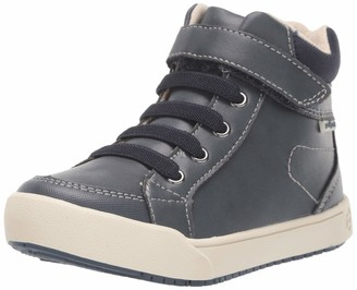 pediped Unisex-Kid's Logan Sneaker