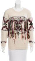 Isabel Marant Fringe Alpaca Sweater
