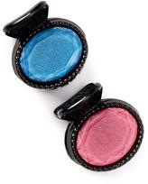 Natasha Accessories Round Jeweled Jaw Clip - Pack of 2