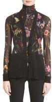 Fuzzi Women's Tulle Cardigan