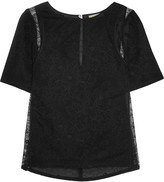 Nina Ricci Corded lace top