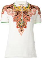 Etro paisley print polo shirt - women - Cotton/Spandex/Elastane - 44