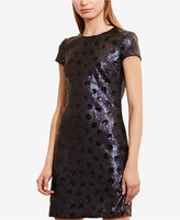 Lauren Ralph Lauren Polka-Dot Sequined Dress