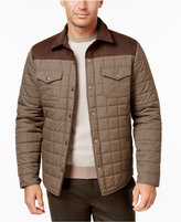 Tasso Elba Quilted Colorblocked Jacket, Only at Macy's