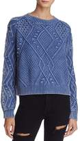 Honey Punch Cable Knit Sweater