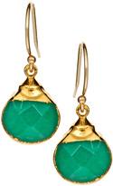 Designs Aqua Jade Drop Earrings