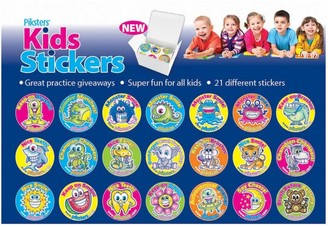 Piksters Stickers 210 Stickers Per Box