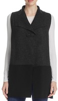Eileen Fisher Color Block Merino Wool Vest