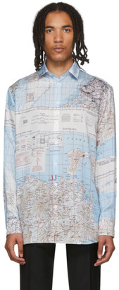 Études Multicolor Map Reflet Shirt