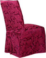 Sure Fit Scroll 1-pc. Dining Chair Slipcover - Long