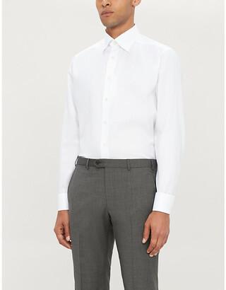 Eton Slim-fit cotton shirt
