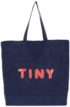 Tiny Cottons large Tiny-print tote bag