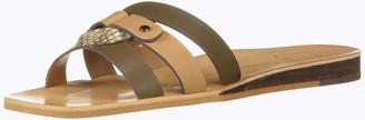 Dolce Vita Women's CAIT Slide Sandal tan Multi Leather 7 M US