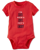 Carter's I'm Cute Mom's Cute Dad's Lucky Bodysuit, Baby Boys (0-24 months)