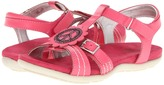 Hush Puppies Kids - Peace (Little Kid/Big Kid) (Candy Pink Leather) - Footwear