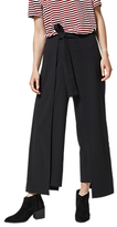 Selected Kimberly Cropped Trousers, Black
