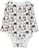 Gap Halloween kitten ruffle bodysuit