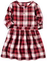 Carter's Plaid Flannel Shirtdress, Toddler Girls (2T-5T)
