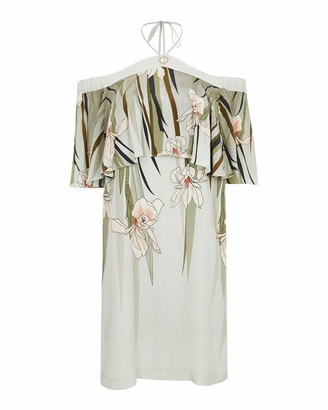Ted Baker Piipper Willow Cold Shoulder Playsuit