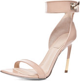 GIVENCHY Guerra Patent Leather Heel in Salmon