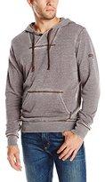 Jet Lag Men's Burnout Hoodie Sweatshirt
